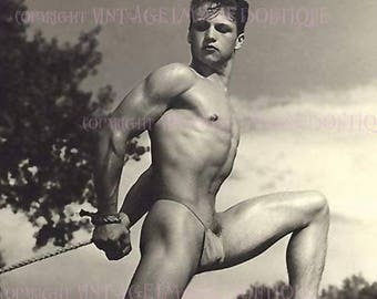 Vintage gay male bondage