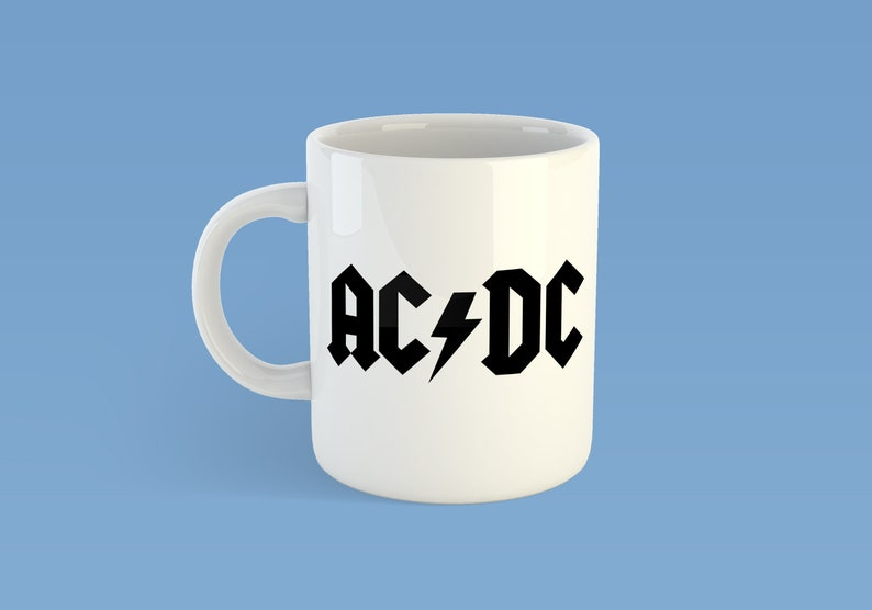 AC//DC Rock Band Heavy Metal Music biker black Bracelet Wristband birthday gift