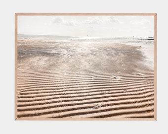 Boho Beach Print, Coastal Poster, Beach Wall Art, Coast Decor, Beach Print, Seaside Art Print, Boho Room Decor