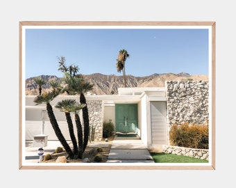 Palm Springs Photo, House Photography, Palm Springs Print, Mid Century Modern