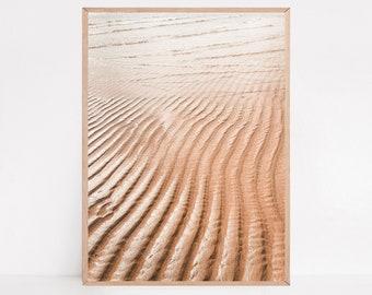 Coastal Print, Sand Poster, Beach Print, Beach Photography, Travel Print, Trend - Adventure - Travel - Ocean - Sand - Sea