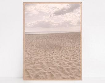 Beach Wall Art, Coastal Poster, Pastel Wall Art, Beach Photography, Beach Print, Beach Decor, Wall Print, Wall Decor, Large Wall Art