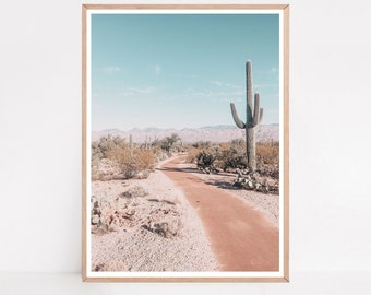 Cactus Print, Saguaro National Park Print, Printable Wall Art, Cactus Photography, Saguaro Print