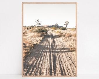 Joshua Tree Print, Mojave Desert, Botanical Wall Art, Boho Wall Art, Printable Wall Decor, Desert Wall Art
