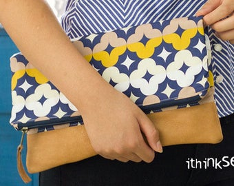 Marissa Fold Over Clutch PDF Sewing Pattern (#910)