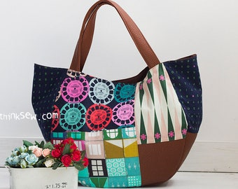 Ingrid Bag PDF Sewing Pattern (#1064)