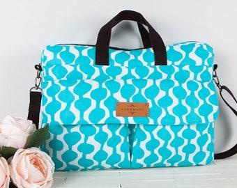 Lisette Laptop Bag PDF Sewing Pattern (#1303)