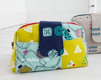 Dahlia Pouch PDF Sewing Pattern (#1164)
