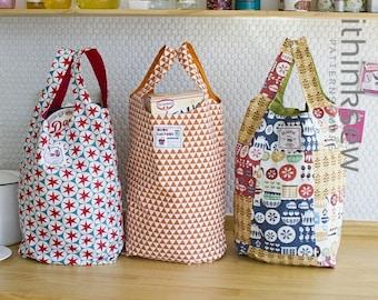 Vanessa Market Bag PDF Sewing Pattern