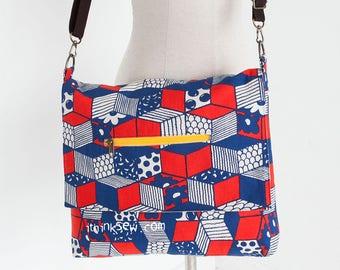 1156 Gabby Messenger Bag PDF Sewing Pattern