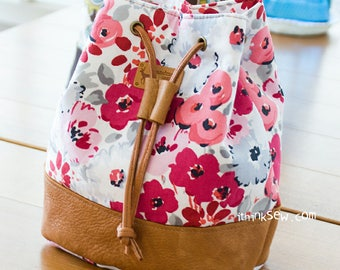 Natalie Cosmetic Bucket Pouch PDF Sewing Pattern (#818)