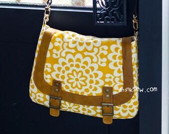 Monica Messenger bag PDF Sewing Pattern (#876)