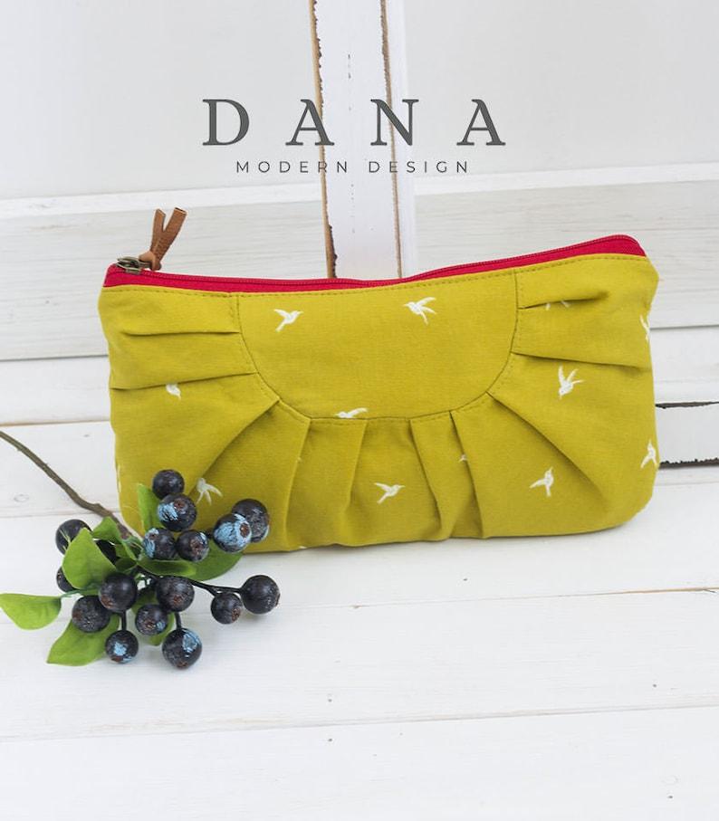 2 size Ariella Clutch Bag PDF Sewing Pattern