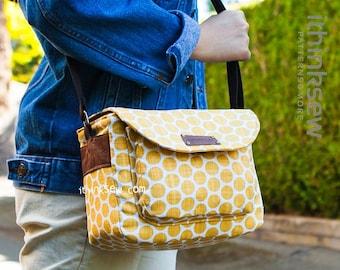 Jerilyn Small Camera Bag PDF Sewing Pattern with FREE Camera Strap pattern