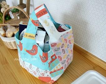 Molly Market Bag PDF Sewing Pattern