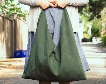 2 Sizes Nori Kimono Bag PDF Sewing Pattern