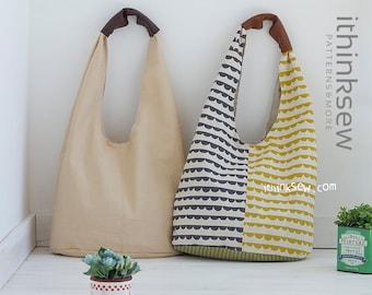 Ellie Hobo Bag  PDF Sewing Pattern