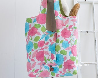 Grace Foldable Market Bag PDF Sewing Pattern