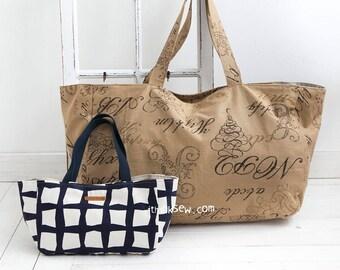 Trista Bag 2  PDF Sewing Pattern (#1153)