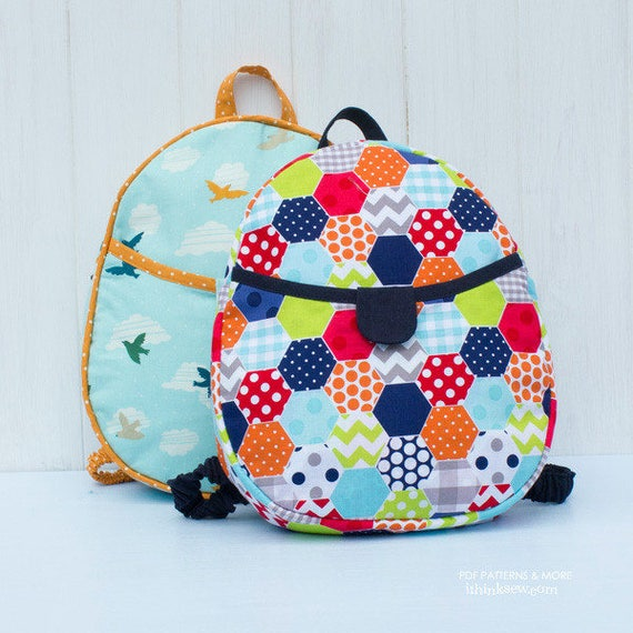 Harper Kids Backpack Pdf Sewing Pattern 592 Etsy