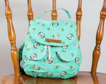 Blake Toddler Backpack PDF Sewing Pattern (#1252)