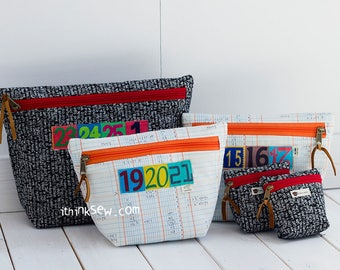 Nicole Pouch PDF Sewing Pattern (#1053)