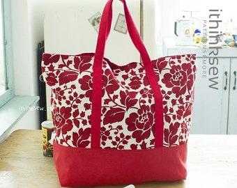 Martha Market Bag PDF Sewing Pattern
