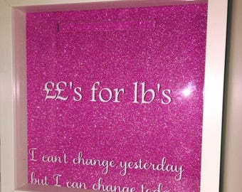 Weight loss motivational drop frame pounds for lbs. diet lose weight and save money also personalised water bottles too