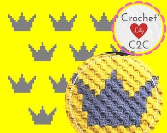 Crochet C2C Lily