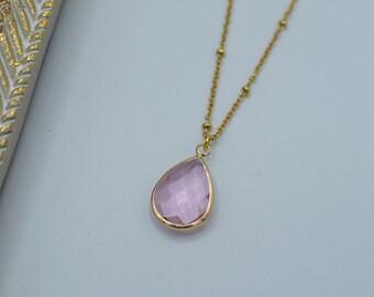 Pendant necklace - Gold