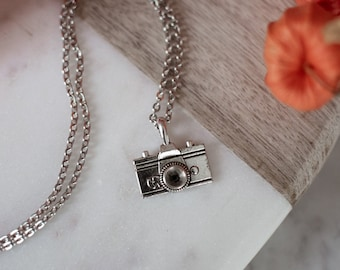 Necklace with pendant - photography