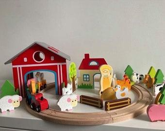 Farmyard Train Set
