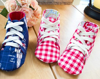 Aidan Baby Sneakers PDF Sewing Pattern (#706)