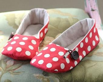 Daphne Women's Shoes PDF Sewing Pattern