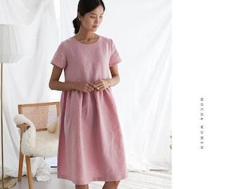 "MOCHA Elsie Dress PDF Sewing Pattern - 4 Kinds of Paper(A4, US Letter, A0, 36""x48"")"