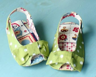 Anabelle Baby Sandals PDF Sewing Pattern (#187)