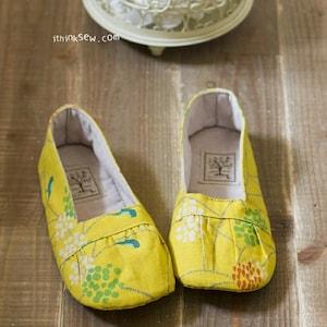 Olivia Women Shoes PDF Sewing Pattern