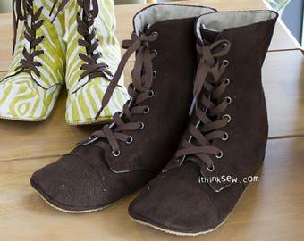 Adler Women's Combat Boots PDF Sewing Pattern (#716)