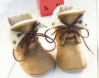 Adler Baby Combat Boots PDF Sewing Pattern