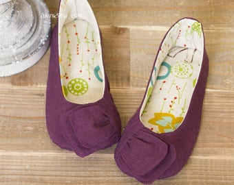 Elizabeth Women Shoes PDF Sewing Pattern