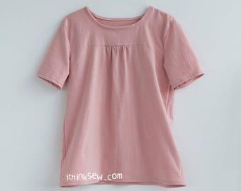 Margaret Tunic Shirt PDF Sewing Pattern (#1044)