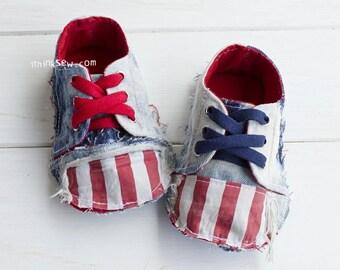 Kaley Baby Sneakers PDF Sewing Pattern (#682)