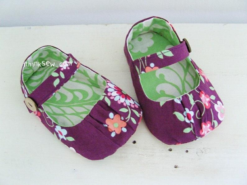 ef922ed4b49a4 Lydia Baby Mary Janes PDF Sewing Pattern (#99)