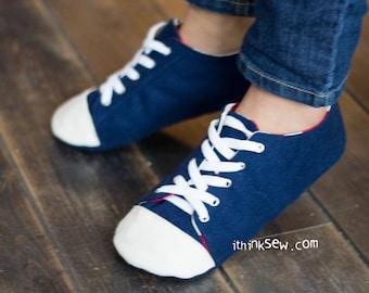 Kaley Women's Sneakers PDF Sewing Pattern (#725)