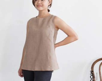 """MOCHA 2 Styles Tricia Tunic and Dress PDF Sewing Pattern - 4 Kinds of Paper(A4, US Letter, A0, 36""""x48"""")"""