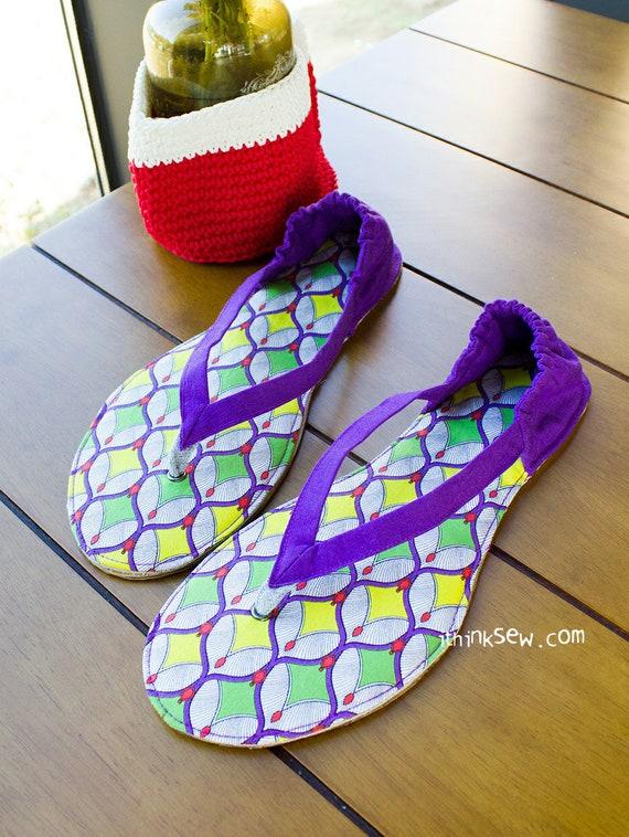 3bb0d33196e79 Valerie Women Flip Flops PDF Sewing Pattern ( 804)