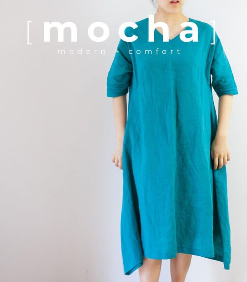 MOCHA Betsy Tunic and Dress PDF Sewing Pattern