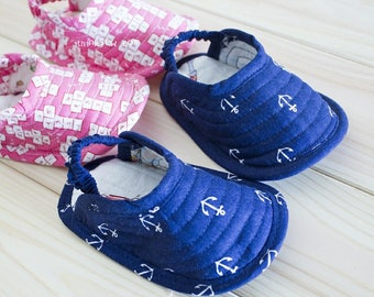 Norman Baby Slippers PDF Sewing Pattern (#359)