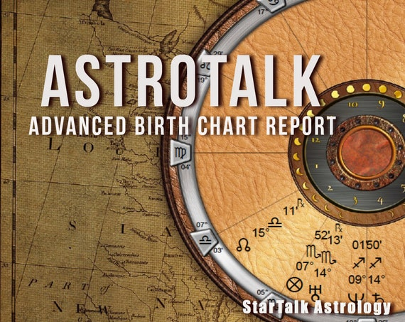 Natal Birth Chart and Forecast Report    Astrology Report