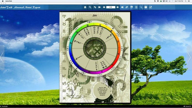 Advanced Birth Chart Report  AstroBook (eBook) is A Beautiful Personalized  Report  Prepare Yourself For A New Experience  Astrology Report